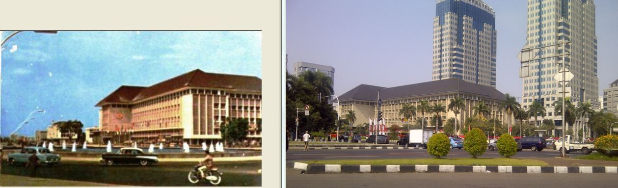 Gedung Bank Indonesia, jl MH Thamrin, Jakarta, 1960 dan