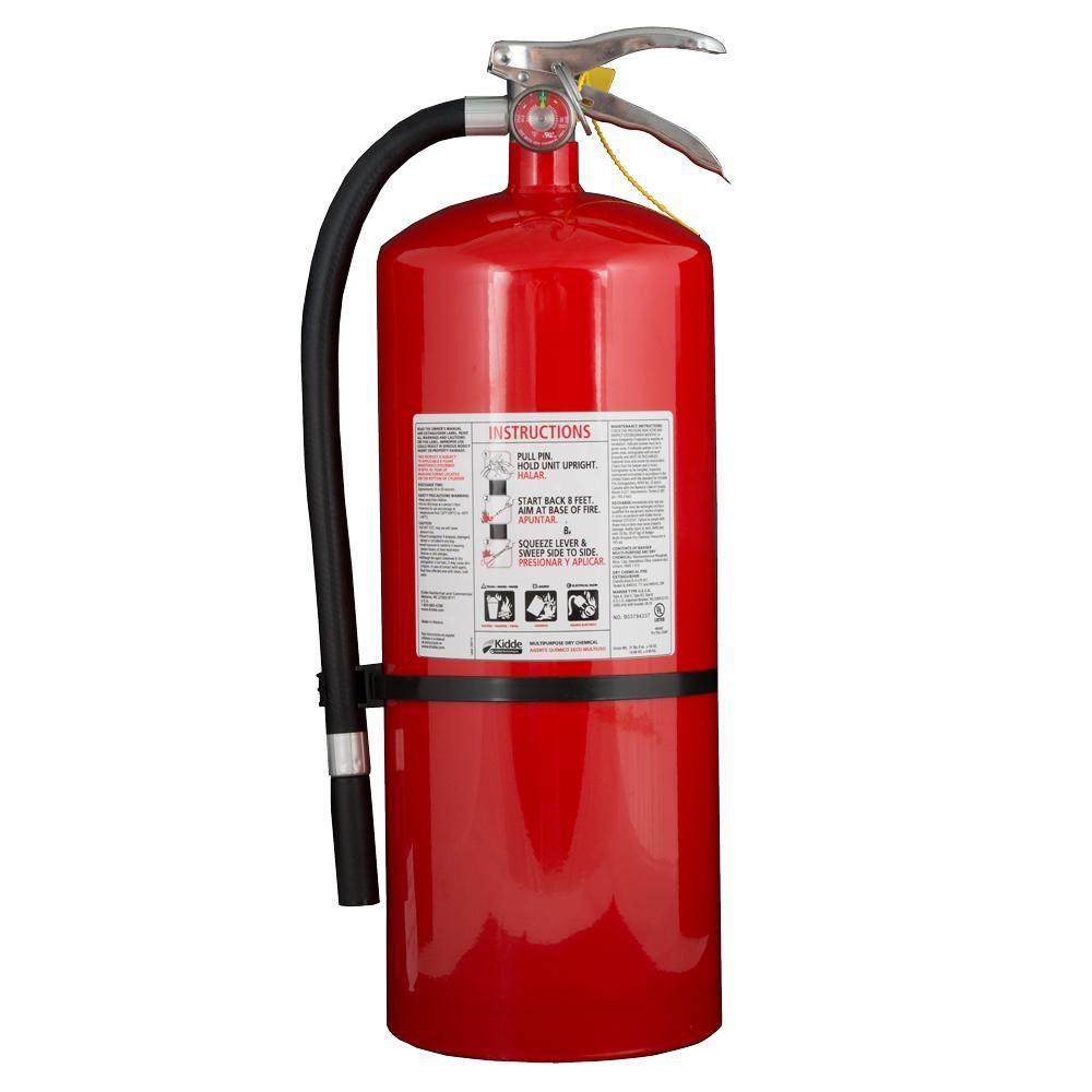 kidde pro plus 20 mp 6 a 120 b c fire extinguisher products rh pinterest com