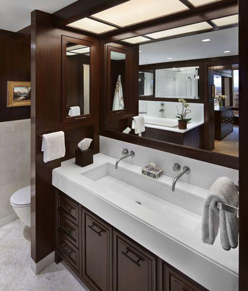 Trough sink jack n jill bathroom home sweet home - Jack and jill sinks ...