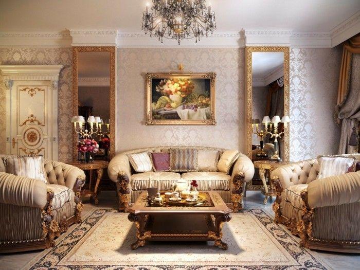 Wohnideen Wohnzimmer Im Klassischen Stil Fur Eleganten Komfort Und