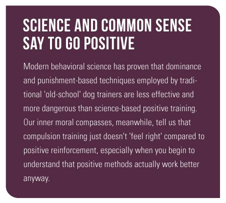 Modern Behavioral Science Has Proven That Dominance And Punishment