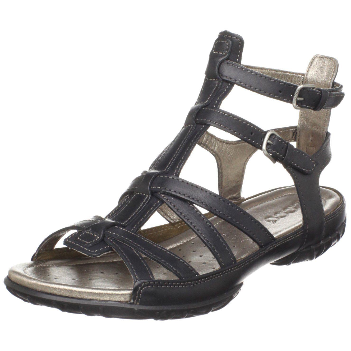 ae053da2a4f4 Amazon.com  ECCO Women s Groove Gladiator Sandal