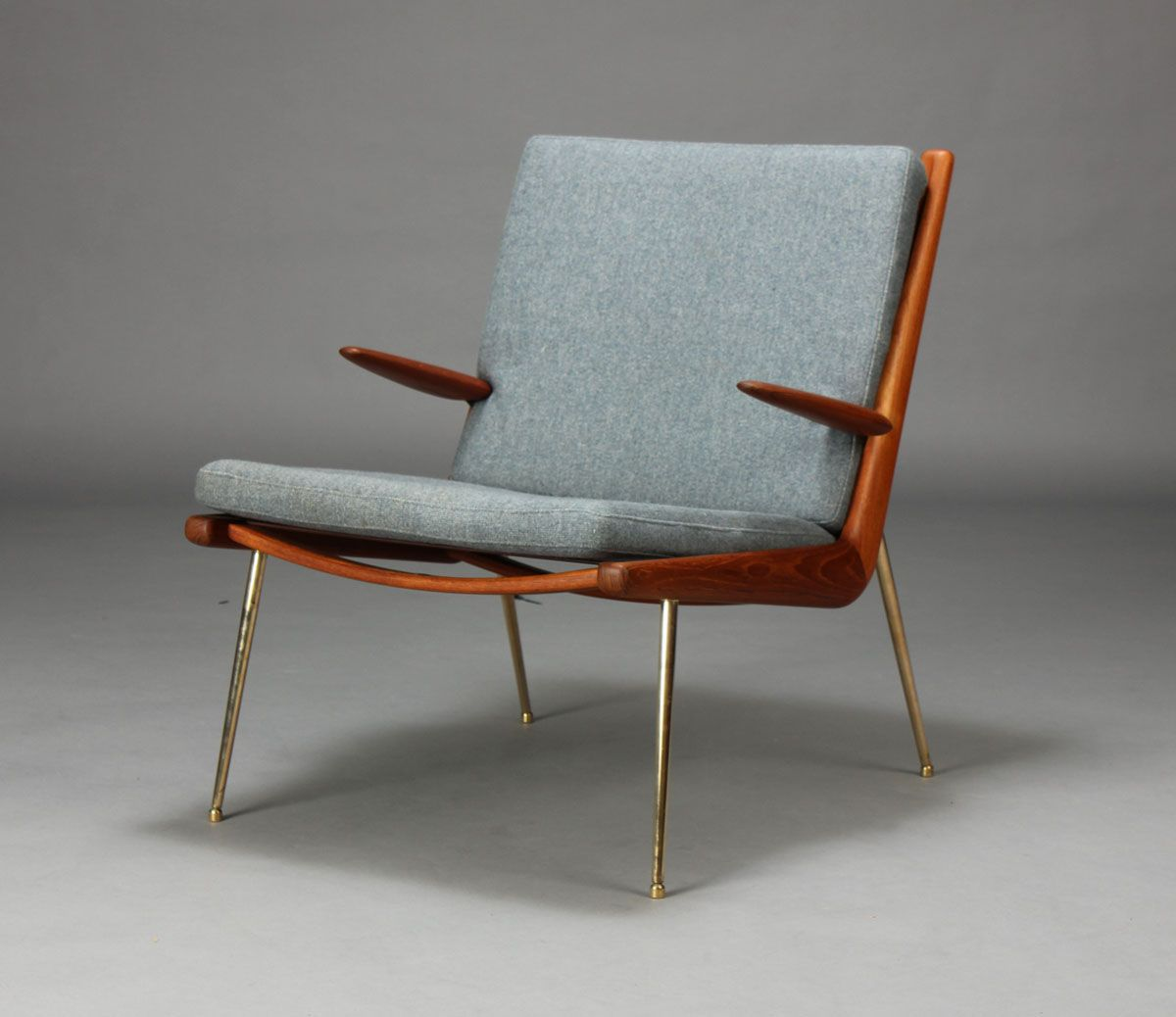 Cool Modern Chairs Peter Hvidt And Orla Mølgaard Nielsen Boomerang Chair