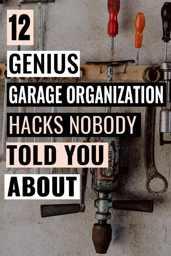 these are the best garage organization hacks i ve ever on best garage organization and storage hacks ideas start for organizing your garage id=16949