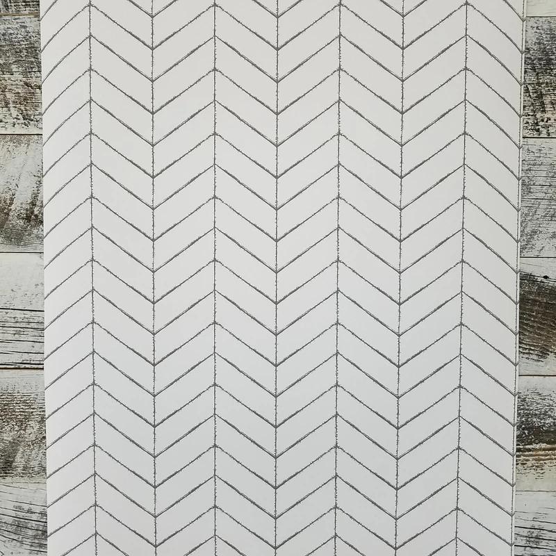 Bison Taupe Herringbone Wallpaper Herringbone Wallpaper Farmhouse Wallpaper Cottage Wallpaper