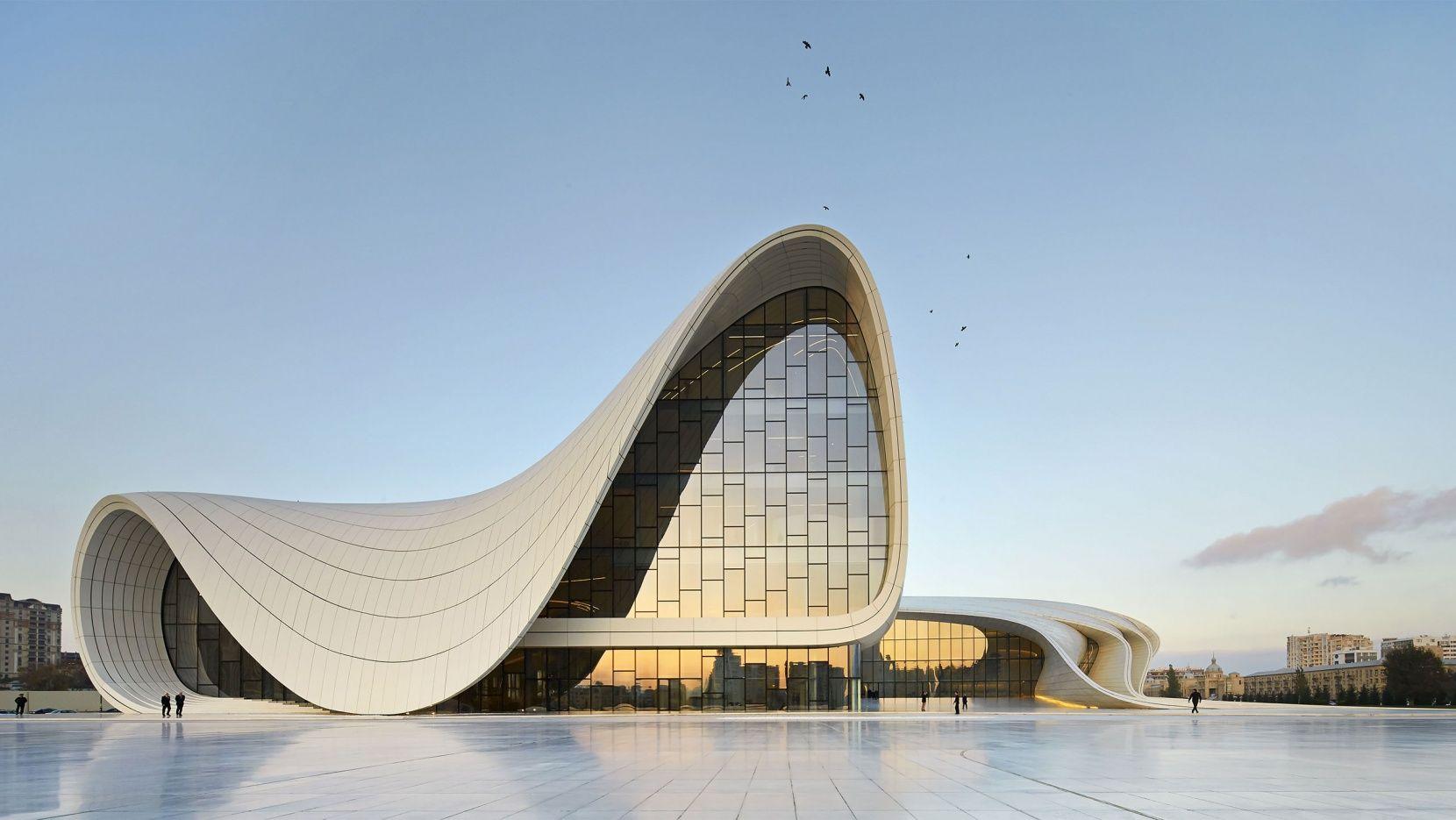 The Heydar Aliyev Center By Zaha Hadid Architects In Baku Azerbaijan Yatzer Zaha Hadid Architecture Zaha Hadid Zaha Hadid Design