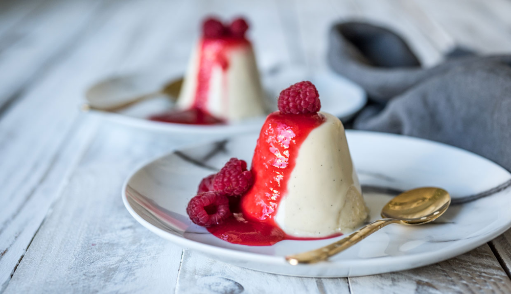 Vanilla Panna Cotta | Queen Fine Foods | Dessert recipes, Food