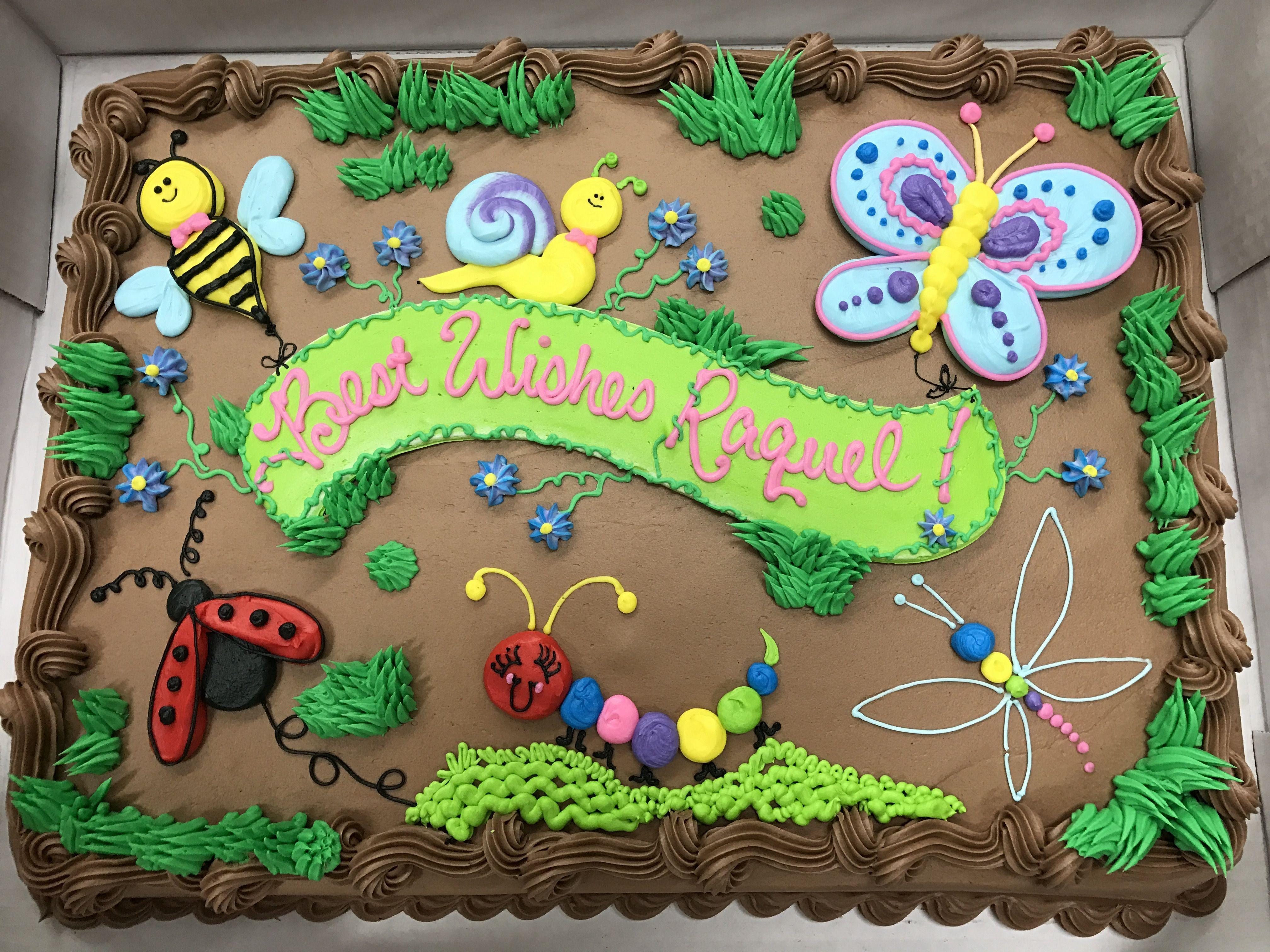 Bug Cake Bug Birthday Cakes Bug Cake Sheet Cake Designs