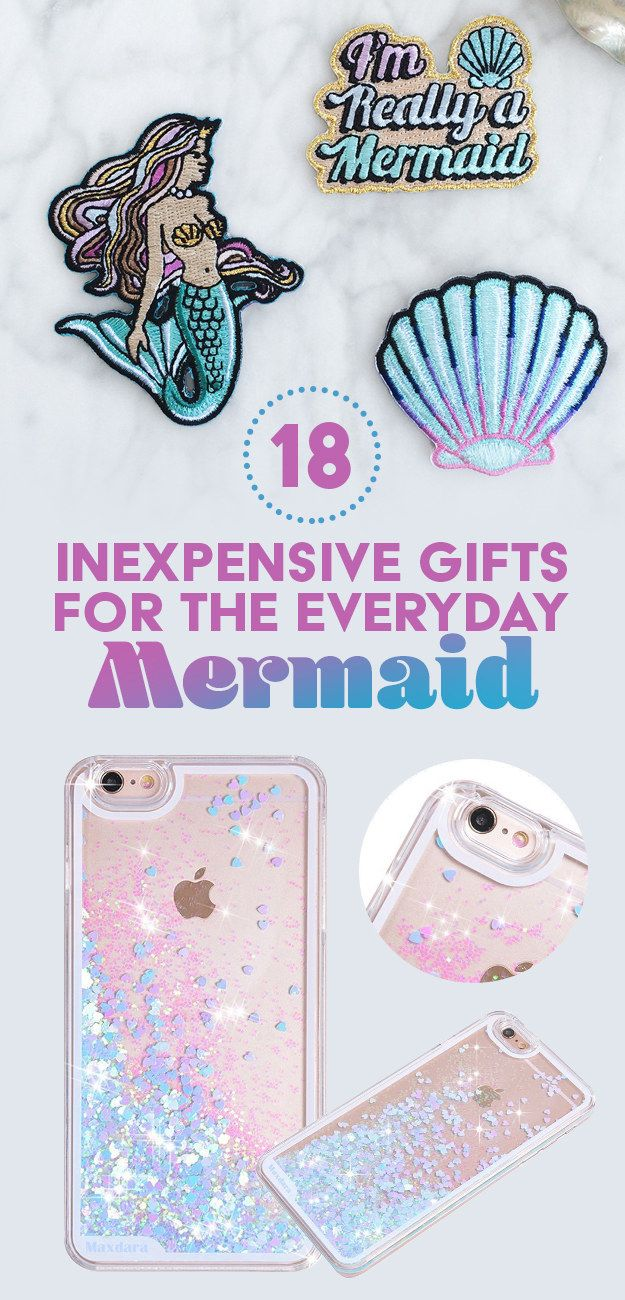 18 Inexpensive Gifts For The Everyday Mermaid  sc 1 st  Pinterest & 18 Inexpensive Gifts For The Mermaid On A Budget | Gadgets and ...