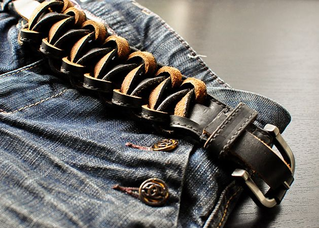 The Cheese Thief: How to Upcycle a Leather Belt