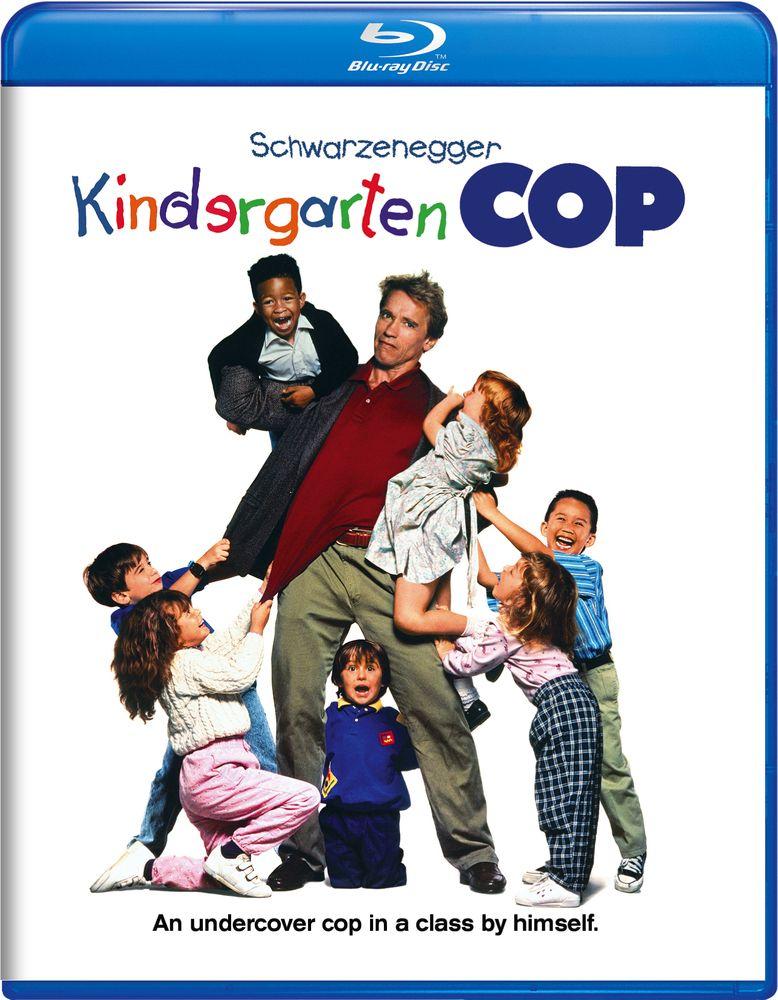 Kindergarten Cop Blu Ray 1990 Good Movies 1990 Movies