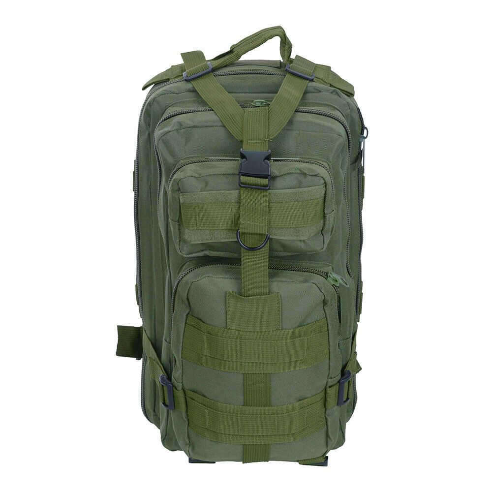 Military Molle Camping Backpack Tactical Camping Hiking Travel Bag Outdoor 30L 1971