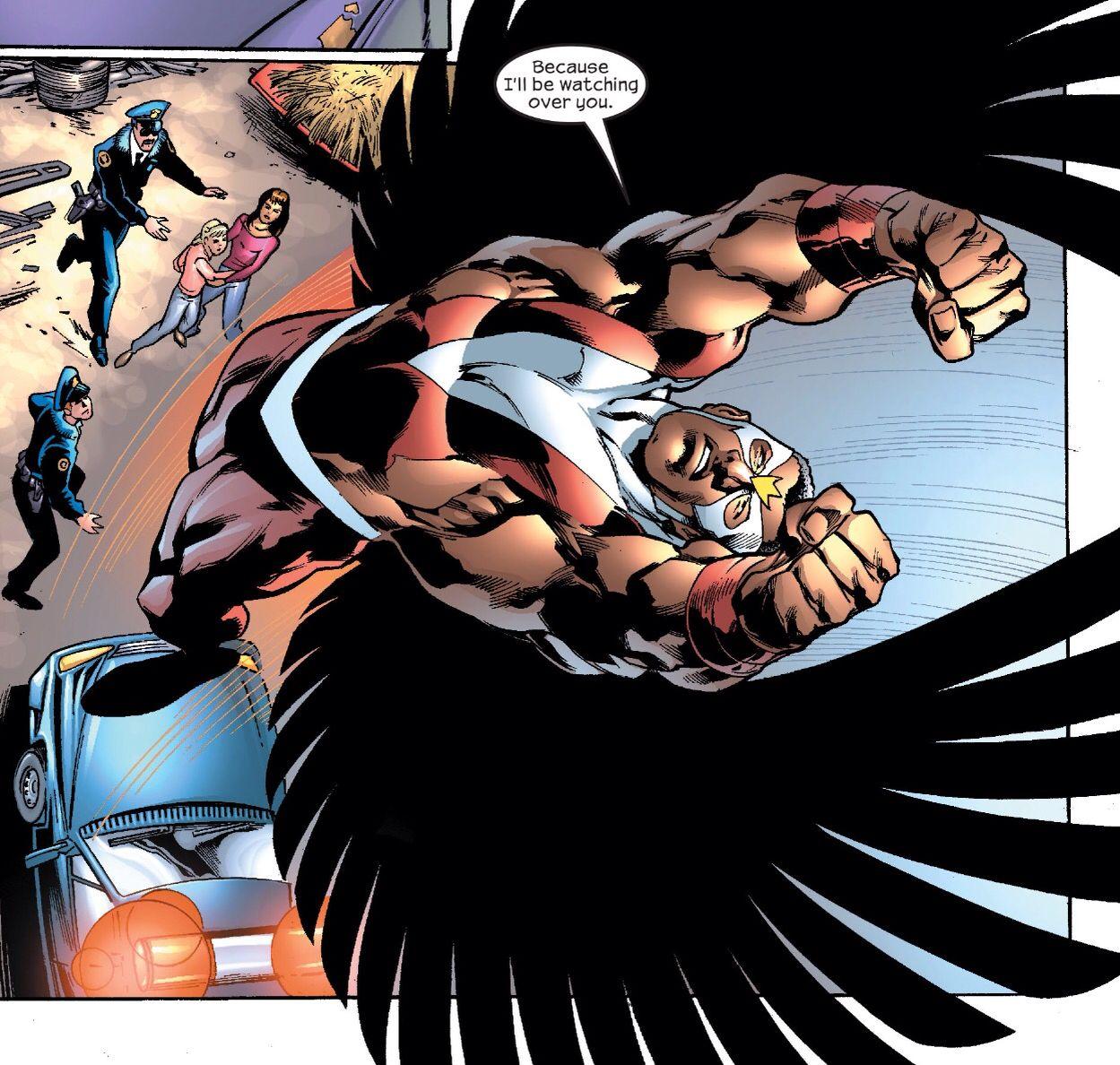 Falcon Avengers, Marvel, Anime