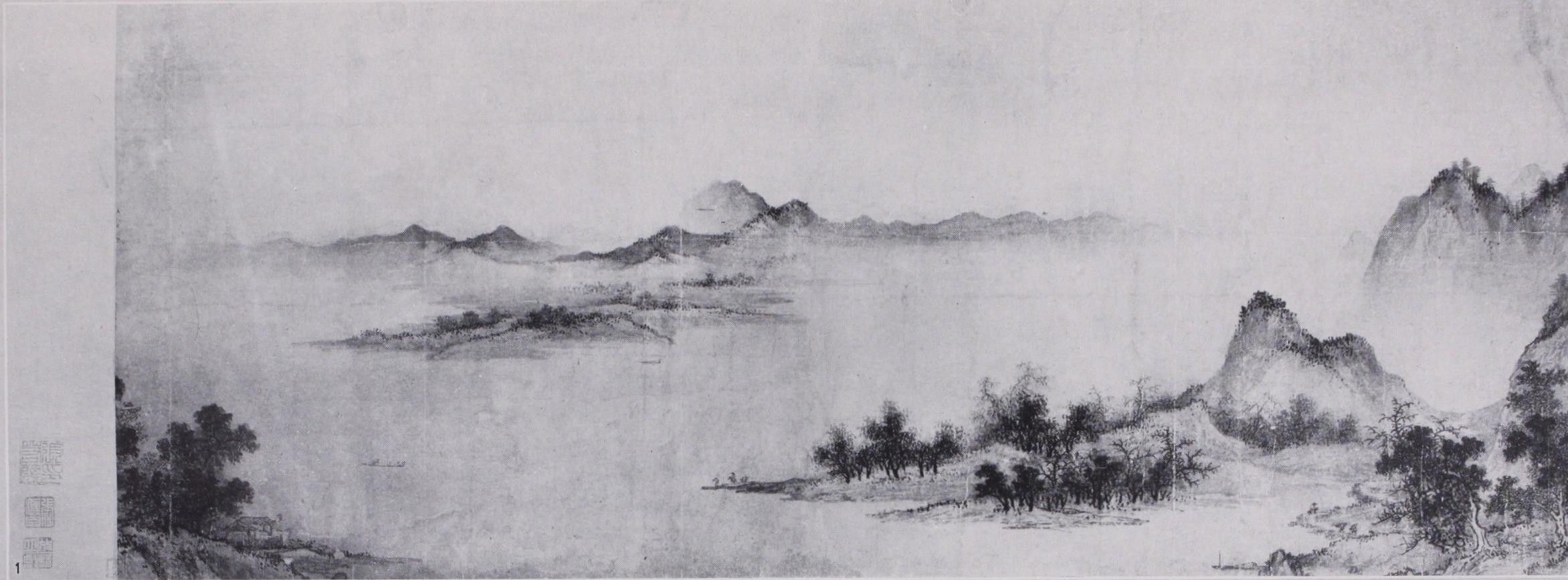 Wonderful Japanese Landscape Ink Painting Pictures Inspiration