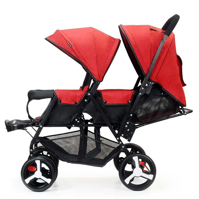 12++ Baby stroller 3 in 1 for twins information