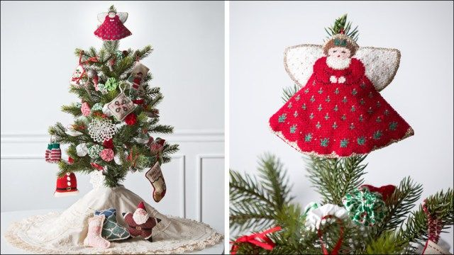 homespun christmas ornaments | Christmas Decor & Craft Ideas ...