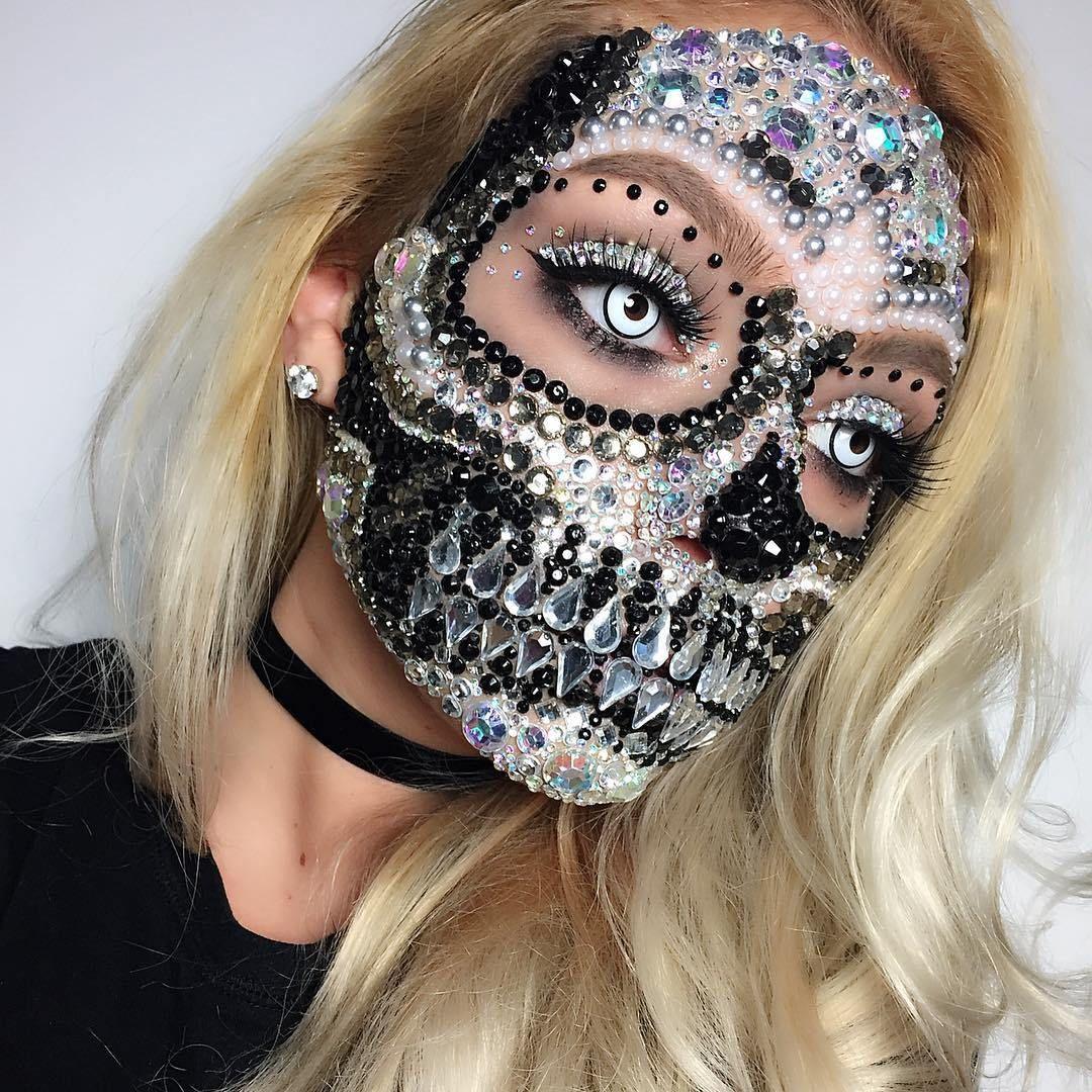 Sexy skull costume