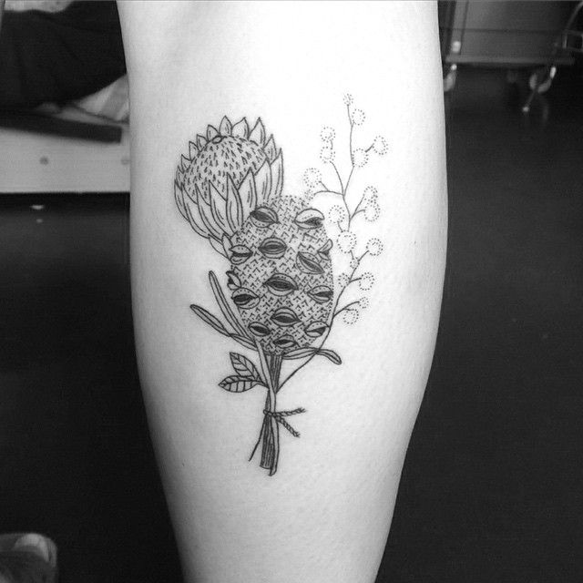 Australian Natives For Stella Floral Back Tattoos Native Tattoos Tattoos