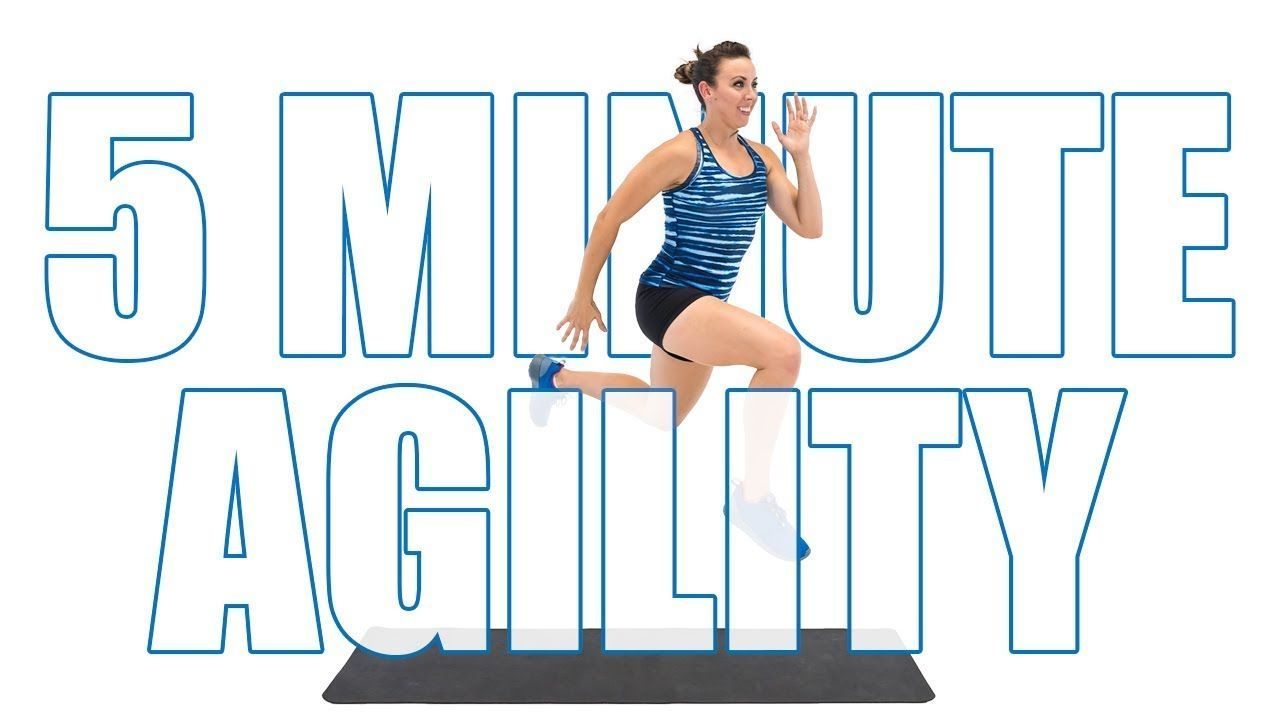5 Minute Fat Burning Agility Workout - YouTube #agilityworkouts 5 Minute Fat Burning Agility Workout - YouTube #agilityworkouts