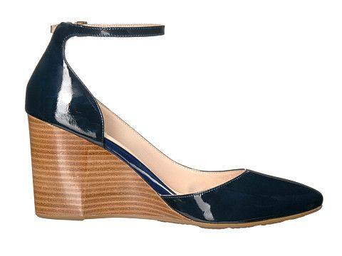 c05dde6e37 Cole Haan Lacey Ankle Strap Wedge 85mm | My Style | Ankle strap ...