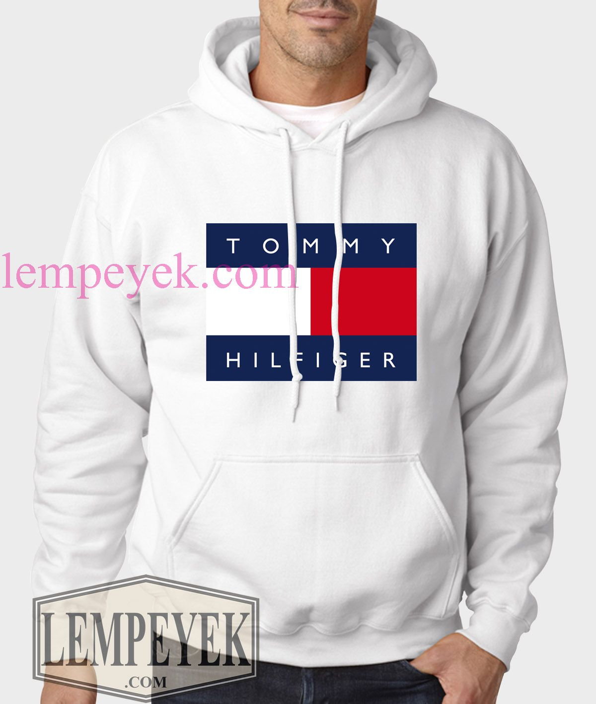 69b9a3cb67028 Tommy Hilfiger Hoodie Unisex Adult Size S-XL