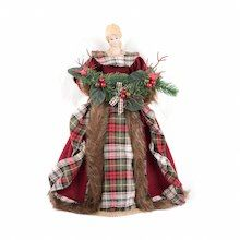 Rustic Angel Tree Topper By Ashland At Michael S Angel Tree Topper Tree Toppers Rustic Christmas