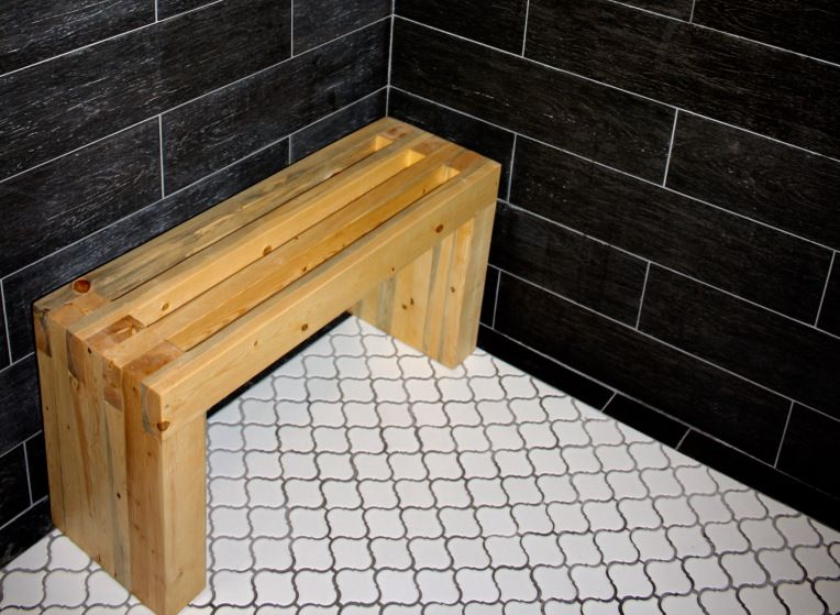 Diy Baileying Wetroom Shower Bench Annabaileying