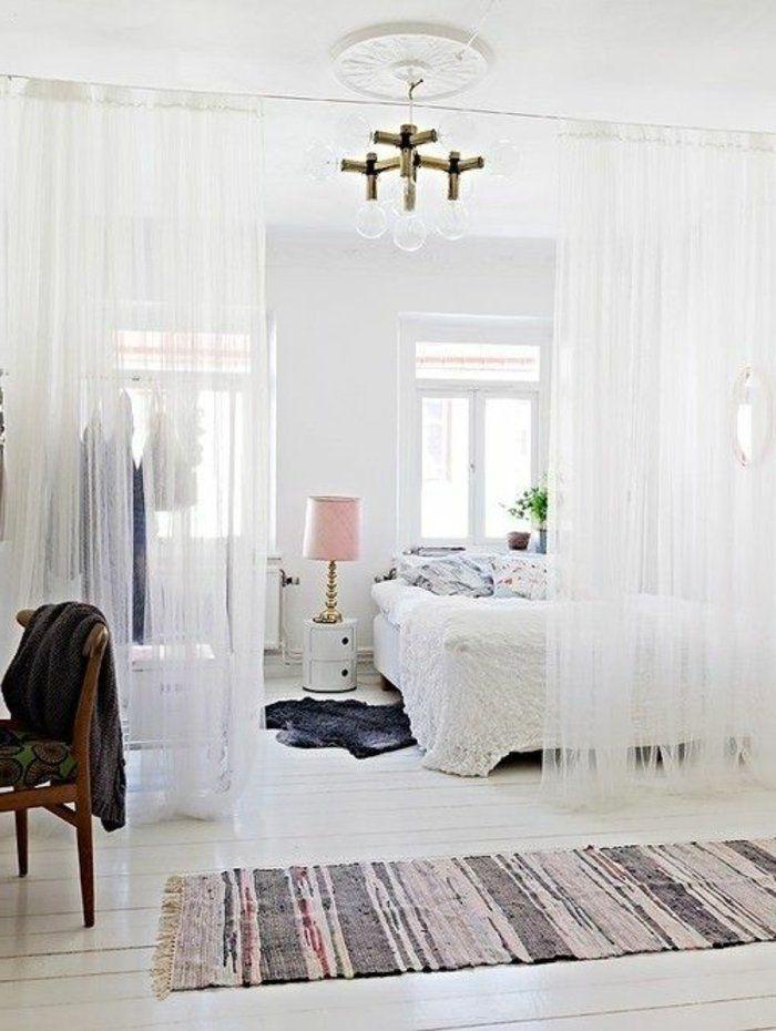 Le rideau voilage dans 41 photos! Interiors