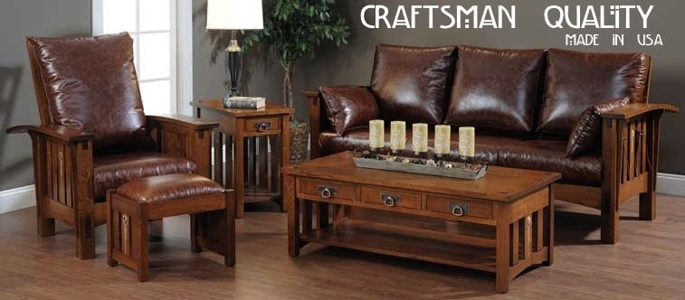Living Room Ideas Mission Style Furniture Clearly Amish Craftsman ...