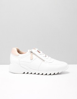 4787 lage sneakers dames Wit 024 MASTERCALF WHITE Leer ...