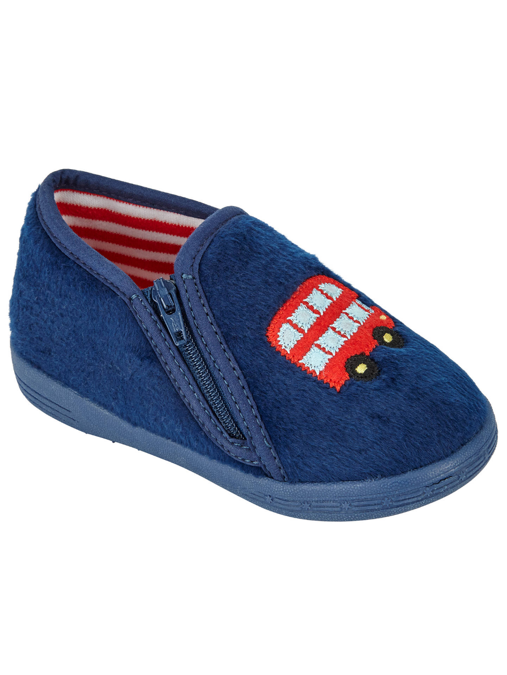 Partners Baby Bus Slippers, Navy | Toddler shoes, John ...