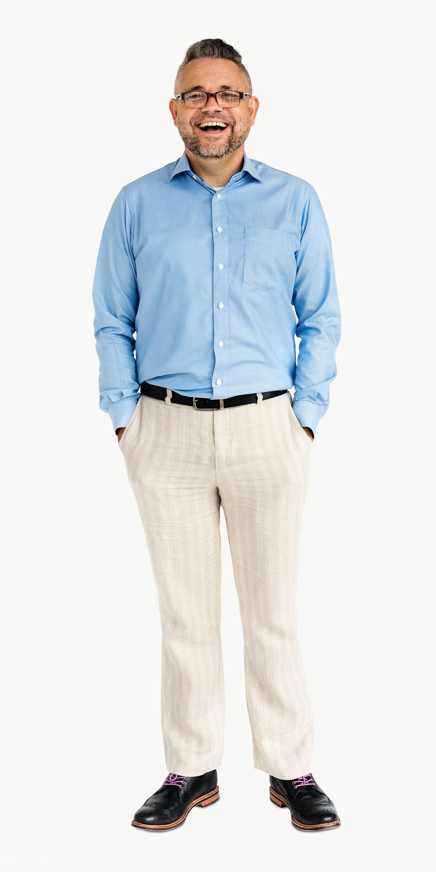 Download Premium Png Of Happy Businessman Standing With His Hands In The Business Man People Png Young Black