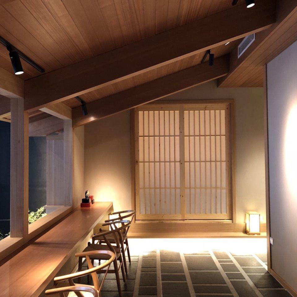 和食料理店 飲食店デザイン 店舗デザイン 数奇屋 木造建築 木天井 吉林