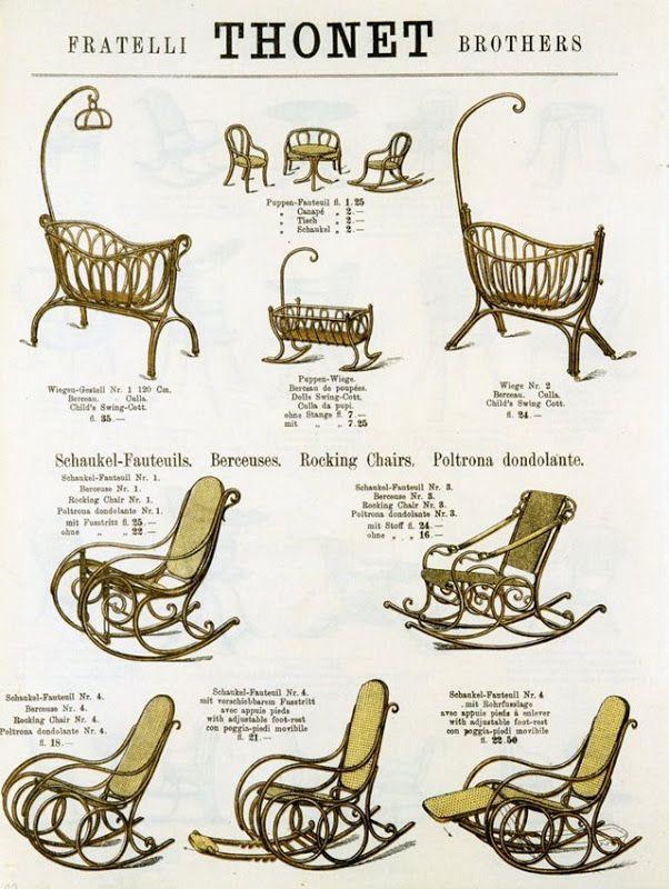 Sensational Thonet Brothers Auction Catalog Dated 1885 Vintage Machost Co Dining Chair Design Ideas Machostcouk