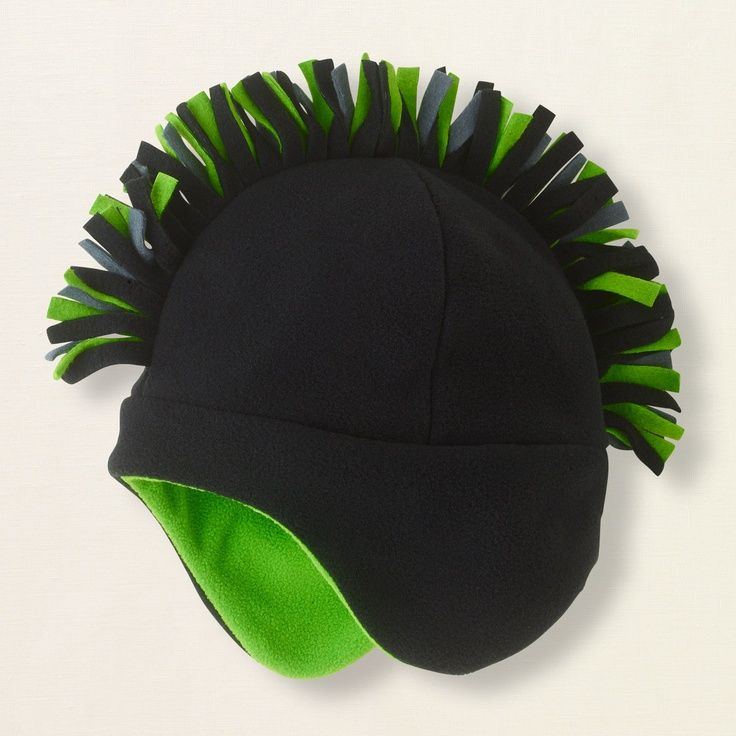 4374cbe4d47 Mohawk Hat with Ear Flaps - Tutorial and Printable Pattern ...
