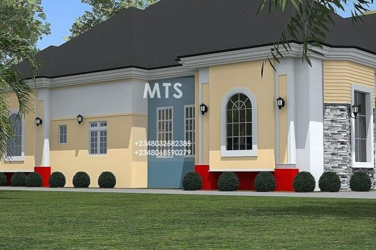 Creative 2 Bedroom Bungalow Design In Nigeria 20 With