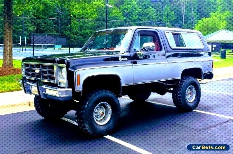 Chevrolet Forsale Blazer Canada 1979 K5 1979 Chevrolet Blazer