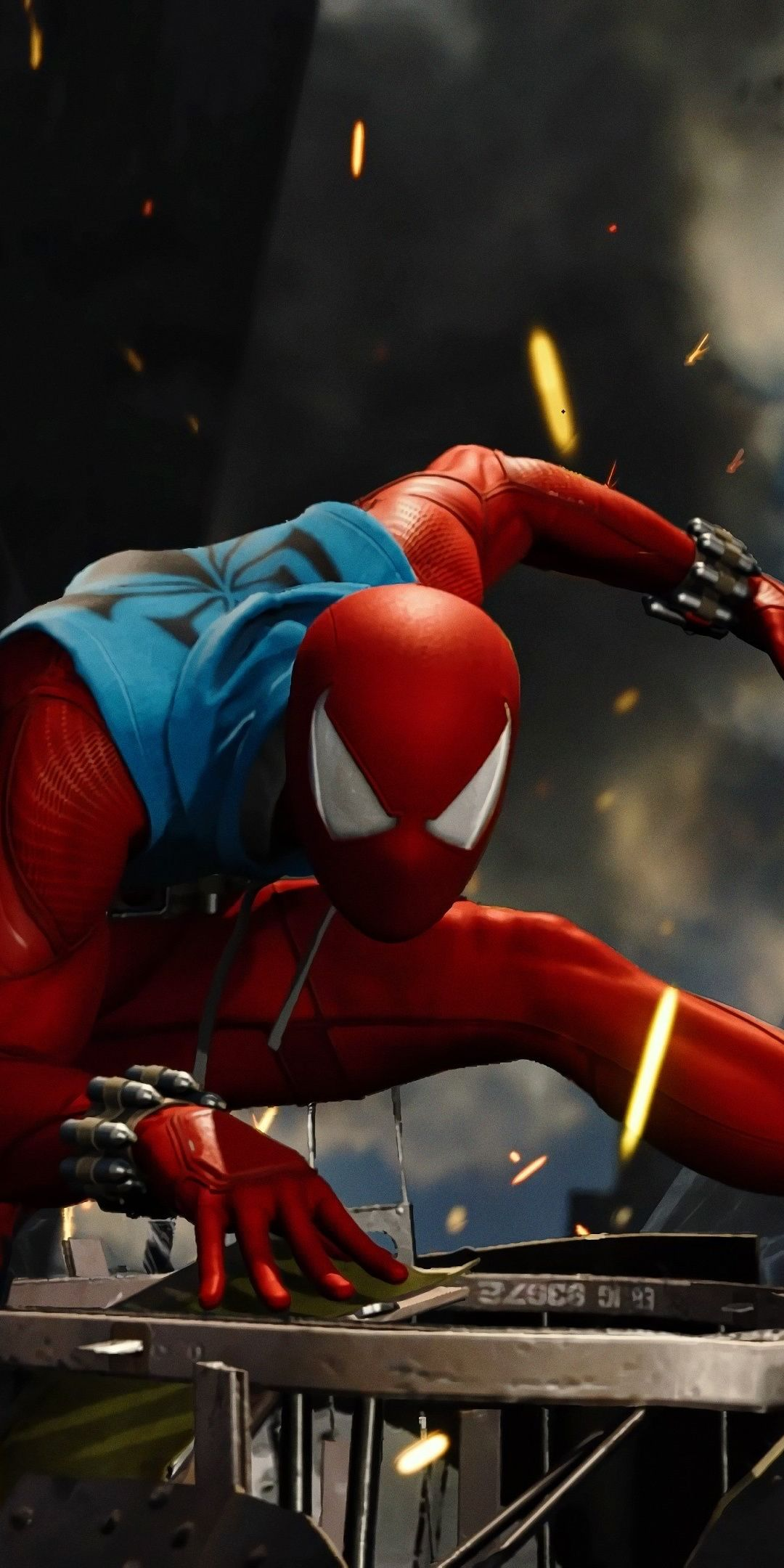 Scarlet Spider Video Game Ps4 Game 1080x2160 Wallpaper Scarlet Spider Spiderman Scarlet Spider Ben Reilly