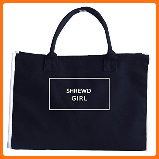Shrewd Girl. Adjectives Funny Gift. - Tote Bag - Top handle bags (*Amazon Partner-Link)