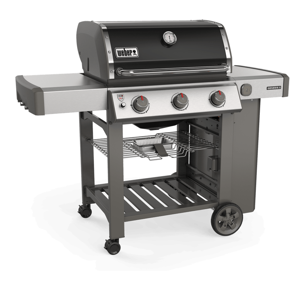 Genesis Ii E 310 Gas Grill Genesis Ii Series Gas Grills In 2020 Gas Grill Stainless Steel Side Table Propane Grill