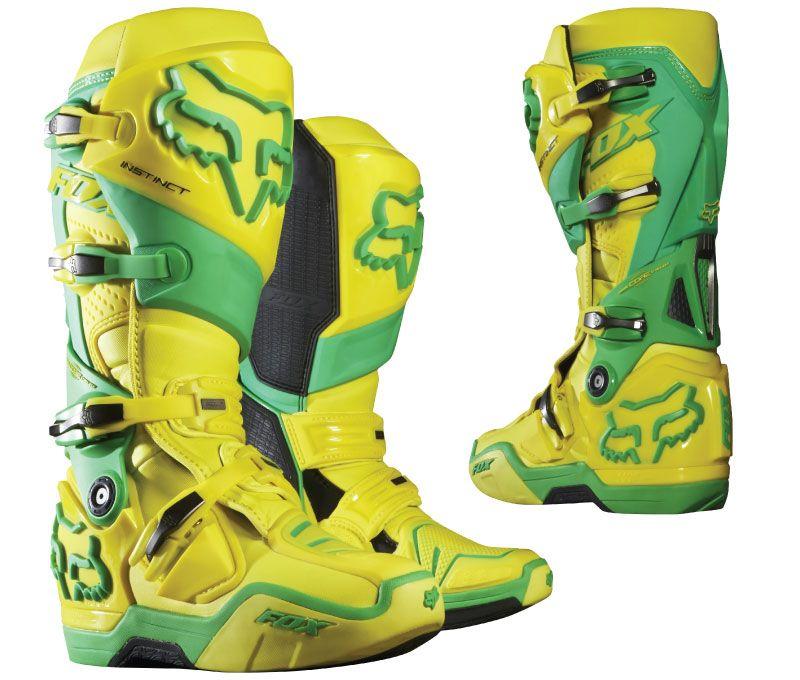 Fox Instinct Le Boot Green Yellow Boots Pinterest