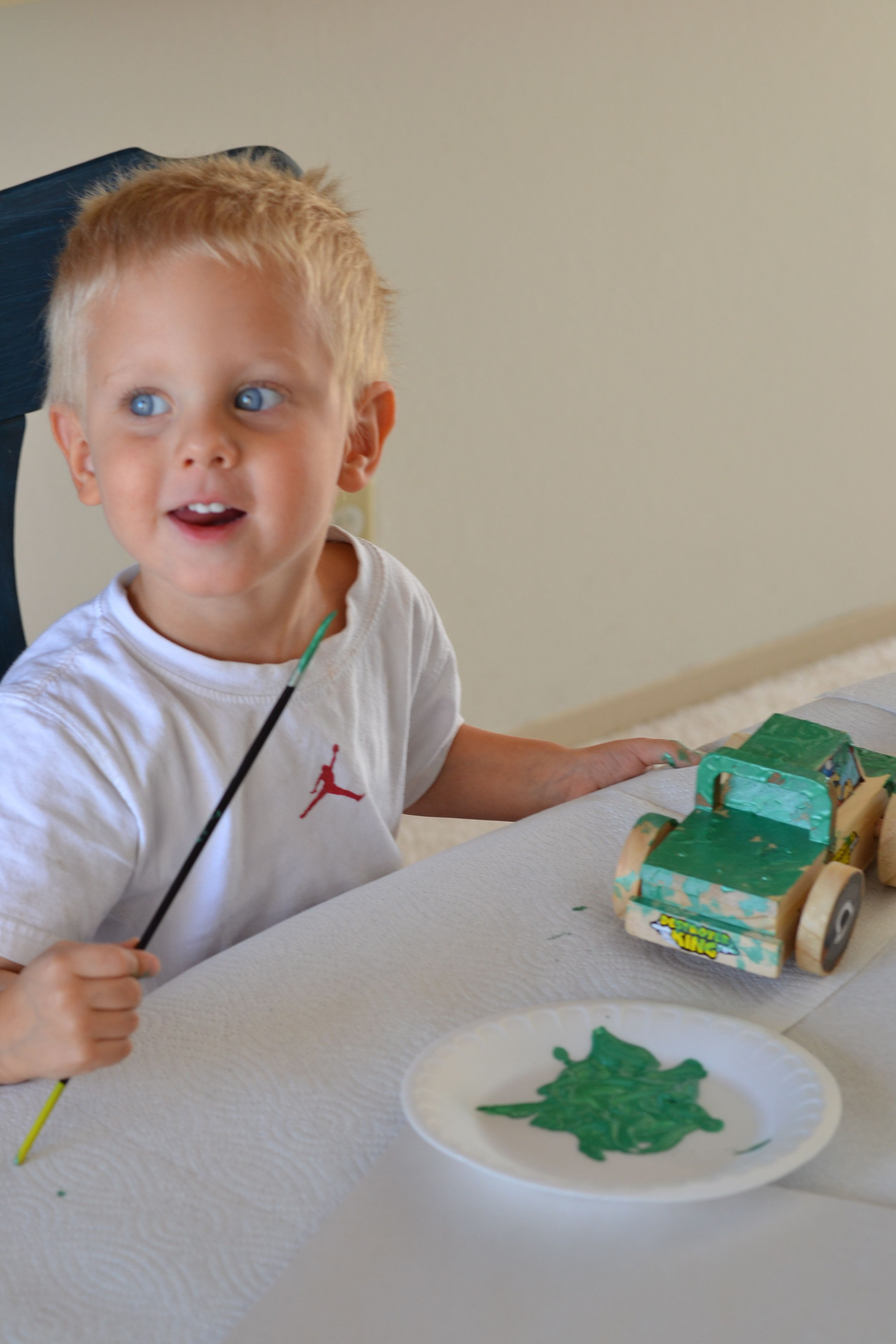 Kids Craft Truck Painting Crafts for kids, Activities