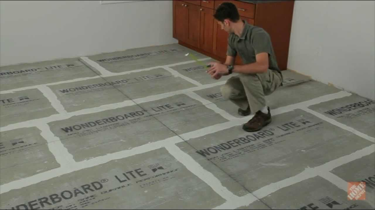 Installing Ceramic And Porcelain Floor Tile Step 1 Plan The