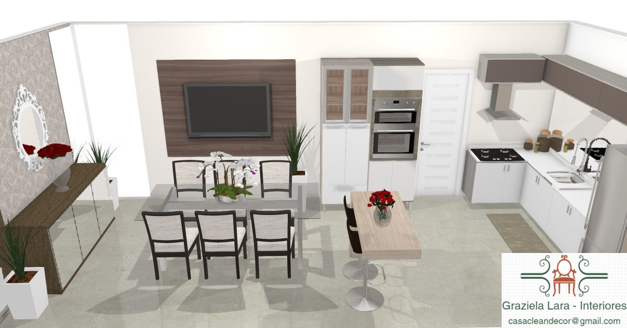 Decora O De Sala De Jantar Copa Integrada A Cozinha Consultoria