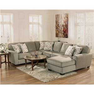 Ashley Furniture Patola Park Patina 4 Piece Small Sectional With Right Chaise Lapeer Furniture Mattress Cen With Images Furniture Ashley Furniture Mattress Furniture