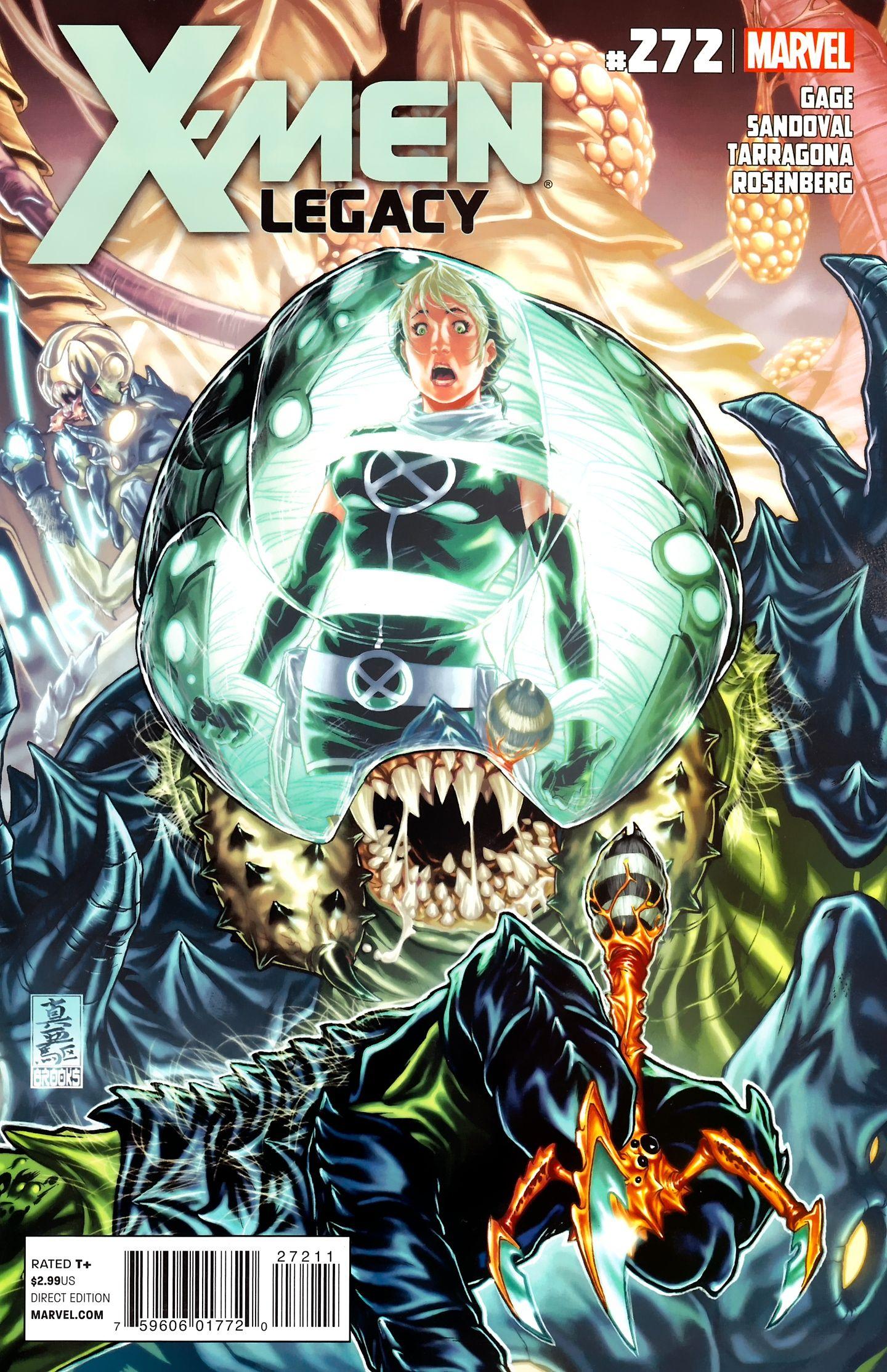 X Men Legacy Vol 1 272 Cover Art By Mark Brooks X Men Comics Marvel Comics