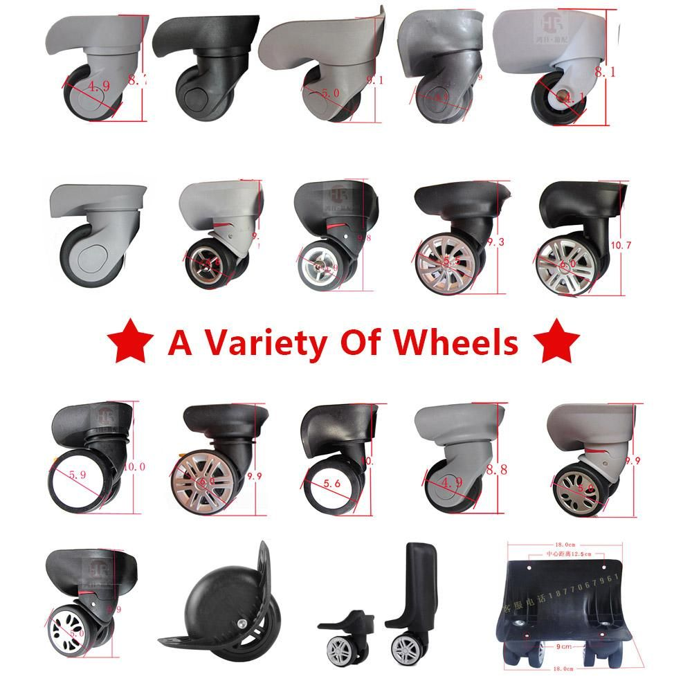 7c5470de7076 Visit to Buy] Replacement Luggage double Wheels,Repair Travel ...