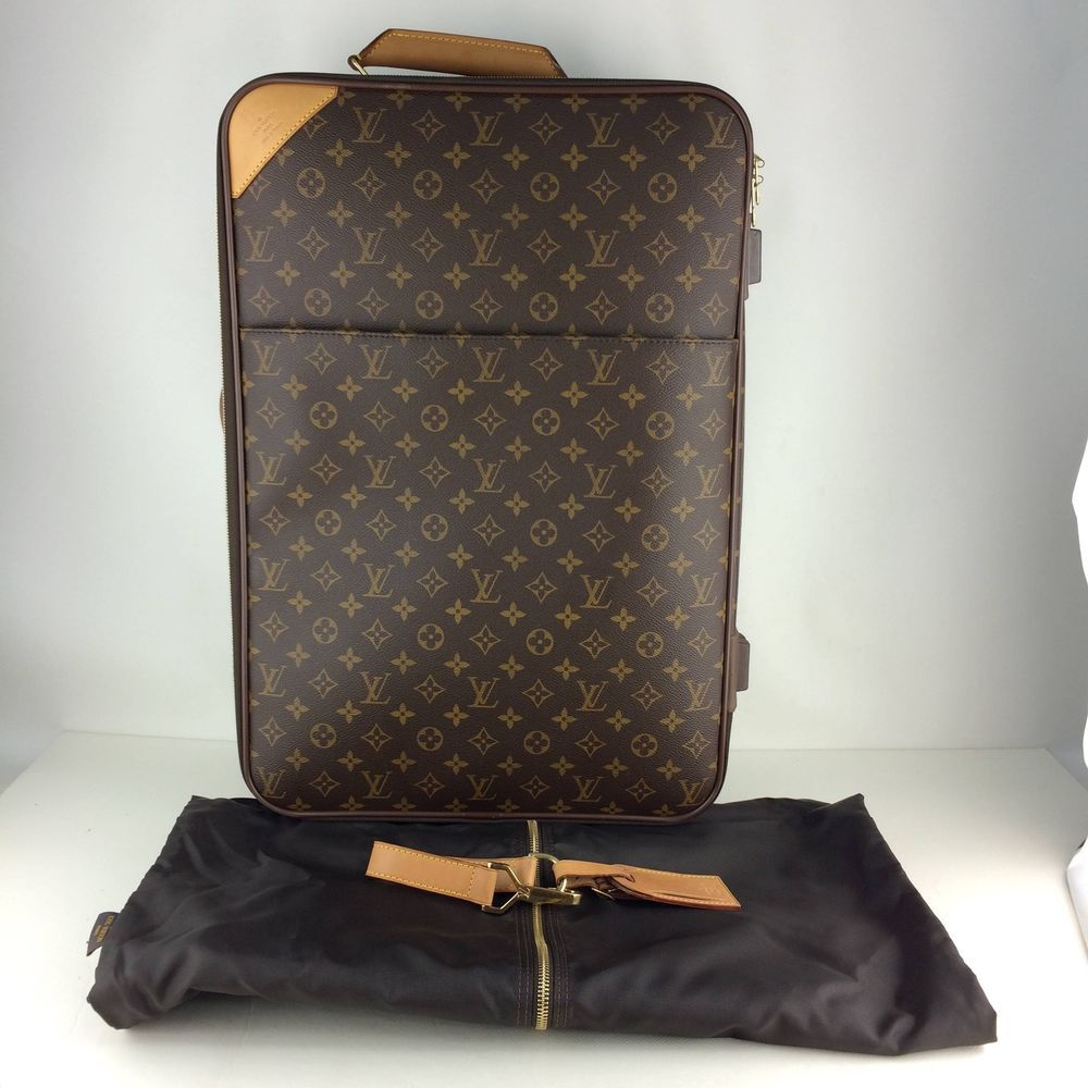 eb8db2ed9262 Authentic Louis Vuitton Monogram Pegase 55 Travel Carry bag M23294  fashion   clothing  shoes  accessories  womensbagshandbags  ad (ebay link)