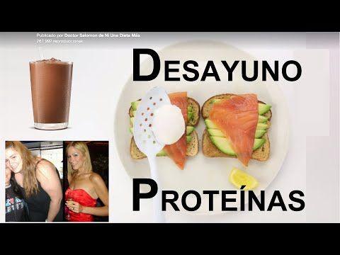 desayuno saludable y rico en proteinas