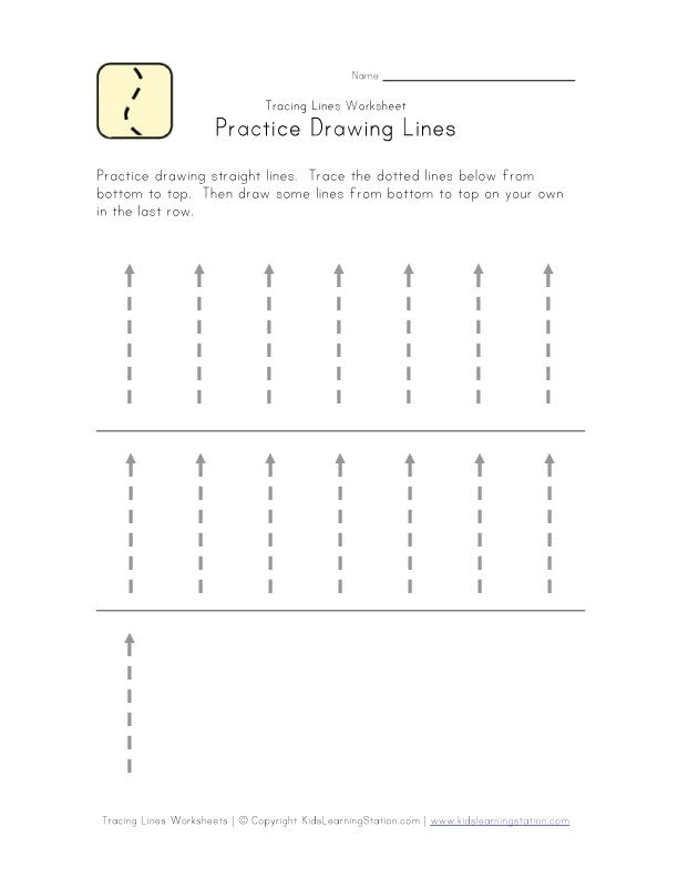 tracing lines worksheet lots of others Great for 2 yr olds – Vertical Line Test Worksheet